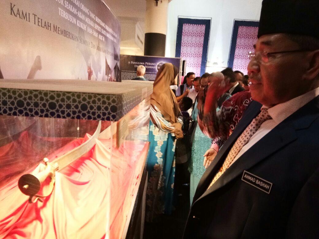 Majlis Perasmian Pameran Artifak Rasulullah SAW dan Para Sahabat RA.